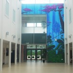The Orchard atrium mural