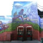 Signal Project's Kilburn Tube Mural