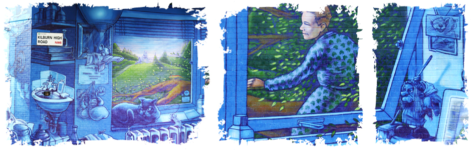 Kilburn Tube Mural